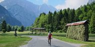 Riding in Slovenia's Julian Alps