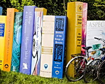 Short story suggestions for bicycling in Europe.