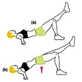Single Leg Hip Lift