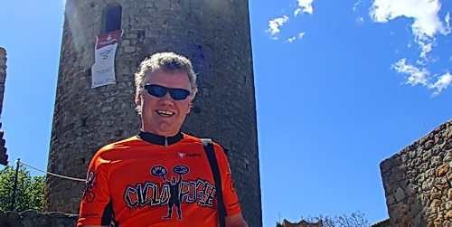 Guy Lothian in Catalonia with ExperiencePlus! Bicycle Tours