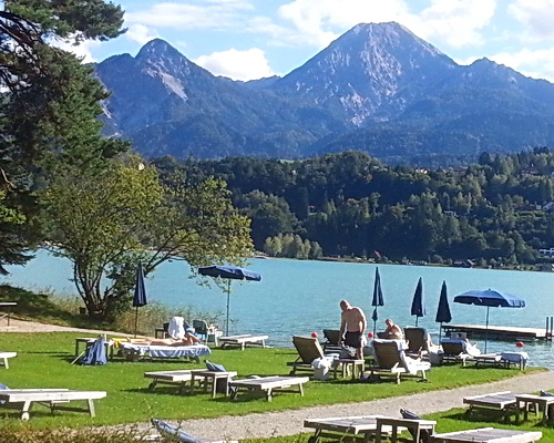 Hotel in Lake Faak Bicycling the Lakes of Austria and Slovenia with ExperiencePlus1