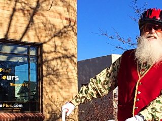 Rick Price - Santa stops by the Fort Collins, CO office