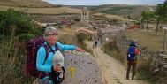 Mary Kay on the Camino de Santiago