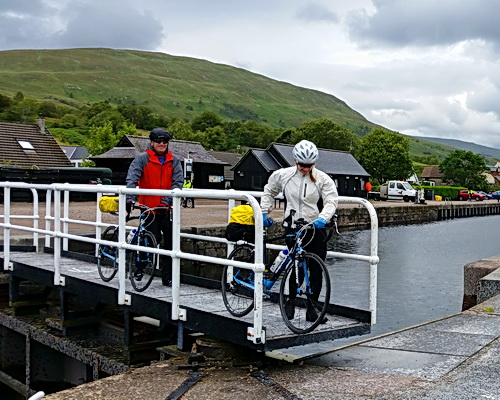 Cate in Scotland with ExperiencePlus! Bicycle Tours