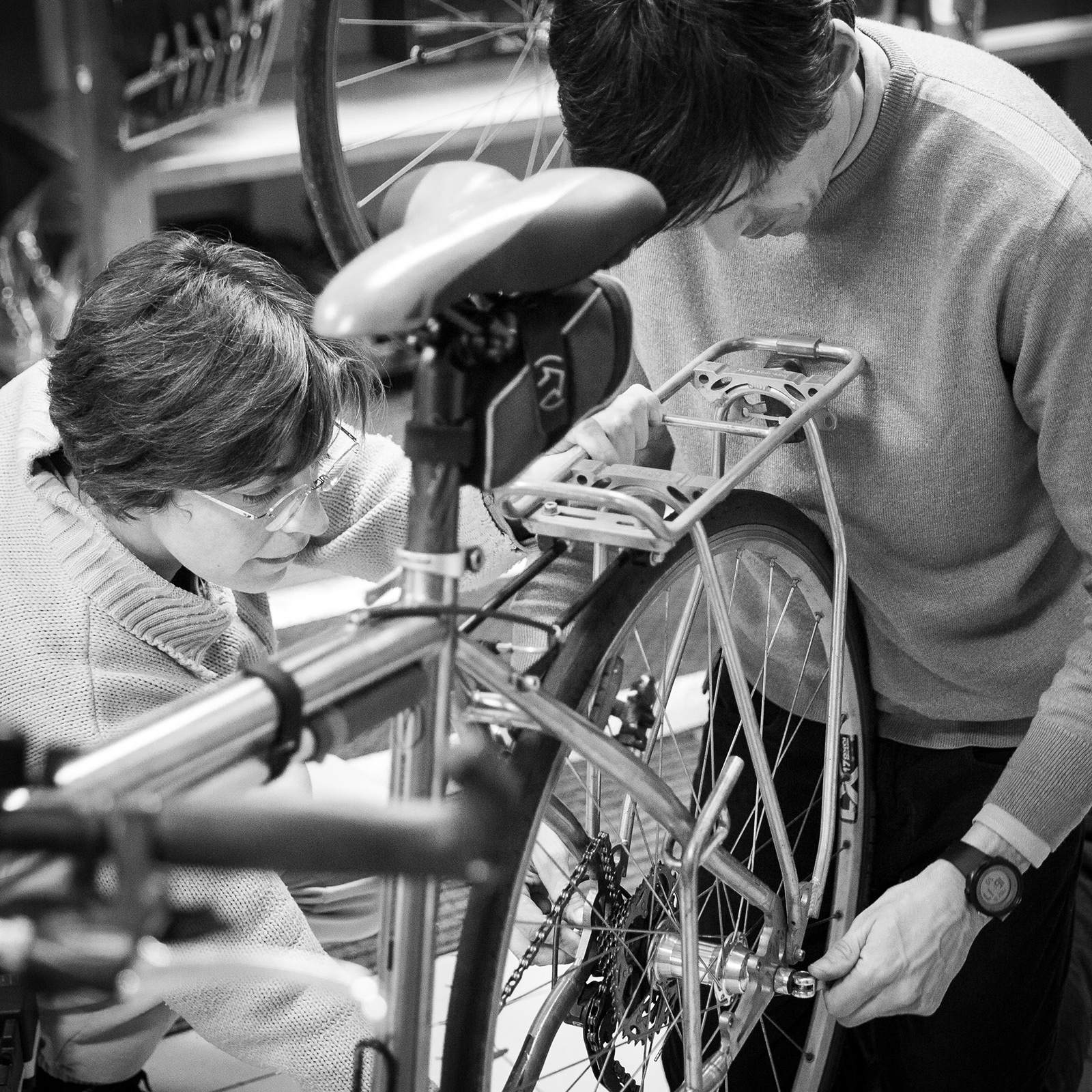 Mechanic skills are among many of the things we look for in tour leaders.