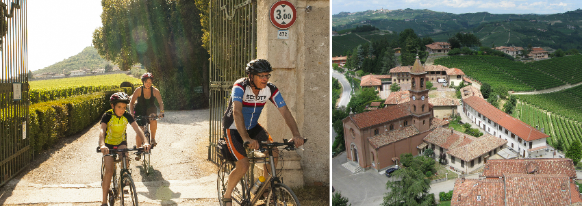 Group cycling tours